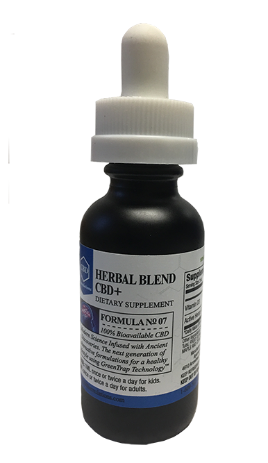 HERBAL BLEND CBD+